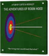 Robin Hood Movie Poster Acrylic Print