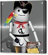 Robo-x9 The Pirate Acrylic Print