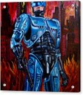 Robocop Acrylic Print