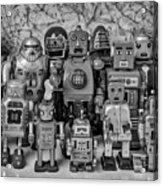 Robot Family Acrylic Print