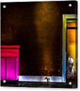 Robot In The Closet Acrylic Print