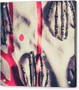 Robot Killing Machines Acrylic Print