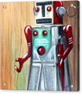 Robot Man Acrylic Print