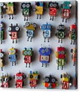 Robots Acrylic Print