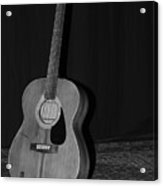 Robyn Hitchcock's Guitar Acrylic Print