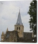 Rochester Cathedral Art Acrylic Print