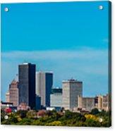 Rochester Ny Skyline Acrylic Print