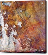 Rock Abstract 1 Acrylic Print