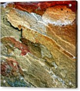 Rock Abstract 3 Acrylic Print