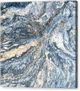 Rock Abstract Acrylic Print