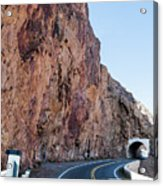 Rock And Road Acrylic Print