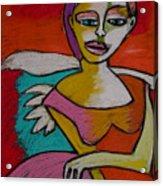 Rock And Roll Angel Acrylic Print
