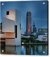 Rock And Roll Hall Of Fame And Museum Acrylic Print