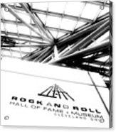 Rock And Roll Hall Of Fame Acrylic Print