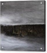 Rock And The Sea Acrylic Print