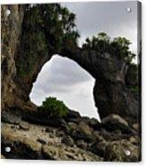 Rock Bridge At Neil Island Acrylic Print