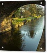 Rock Bridge Shadows  Acrylic Print