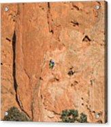 Rock Climbers  Acrylic Print