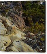 Rock Climbing Acrylic Print