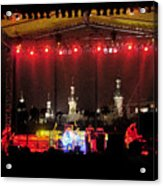 Rock Concert Acrylic Print