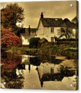 Rock Cottage Acrylic Print