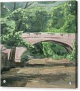 Rock Creek Bridge 5 Acrylic Print
