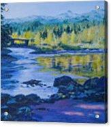 Rock Creek Fishing Hole Acrylic Print