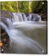 Rock Creek In Happy Valley Oregon Acrylic Print