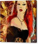 Rock Diva Acrylic Print