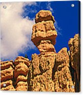 Rock Formations, Bryce National Park Acrylic Print