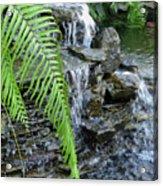 Rock Fountain II Acrylic Print
