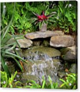 Rock Fountain IIi Acrylic Print