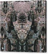 Rock Gods Elephant Stonemen Of Ogunquit Acrylic Print