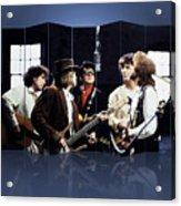 Rock Group Traveling Wilburys Acrylic Print