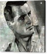 Rock Hudson Hollywood Actor Acrylic Print
