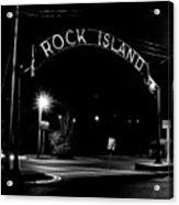 Rock Island Entrance Acrylic Print