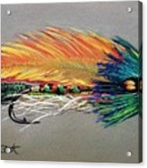 Rock Island Featherwing Streamer Acrylic Print