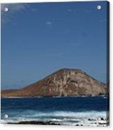 Rock Island Acrylic Print