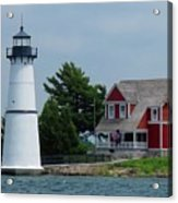 Rock Island Lighthouse July Acrylic Print