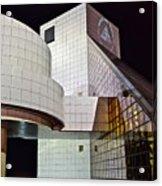 Rock Music Hall Of Fame Acrylic Print