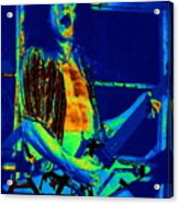Rock 'n' Roll The Cosmic Blues Acrylic Print