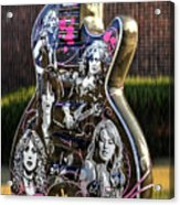 Rock N Roll...girls Rule Acrylic Print