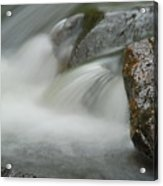 Rock-n-water Acrylic Print