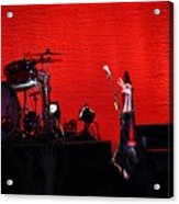 Rock Out Acrylic Print