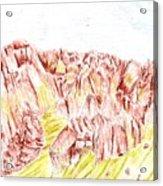 Rock Outcrop Acrylic Print