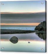 Rock Reflections Acrylic Print