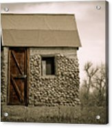Rock Shed 2 Acrylic Print