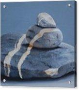 Rock Stack Acrylic Print