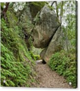 Rock Tunnel Acrylic Print