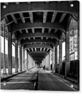 Rockaway Freeway, Queens New York Acrylic Print